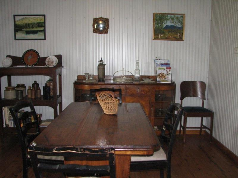 Country furnished dining area