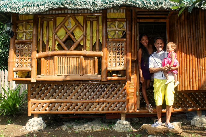 Moalboal Bamboo House, holiday rental in Argao