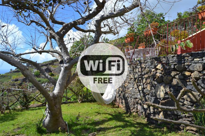 Studio, Terrace, Quiet and Sea View 103, vacation rental in Faja da Ovelha