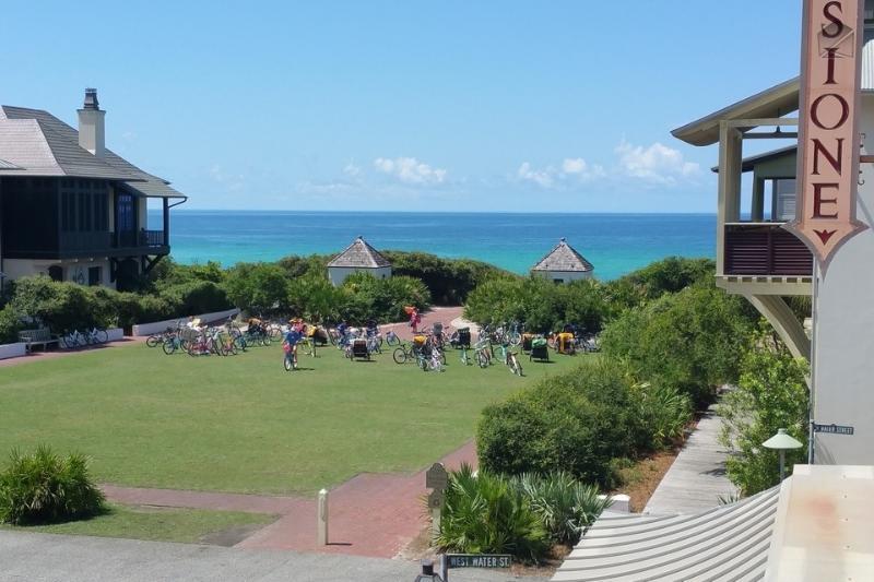Enjoy gulf views from your balcony.