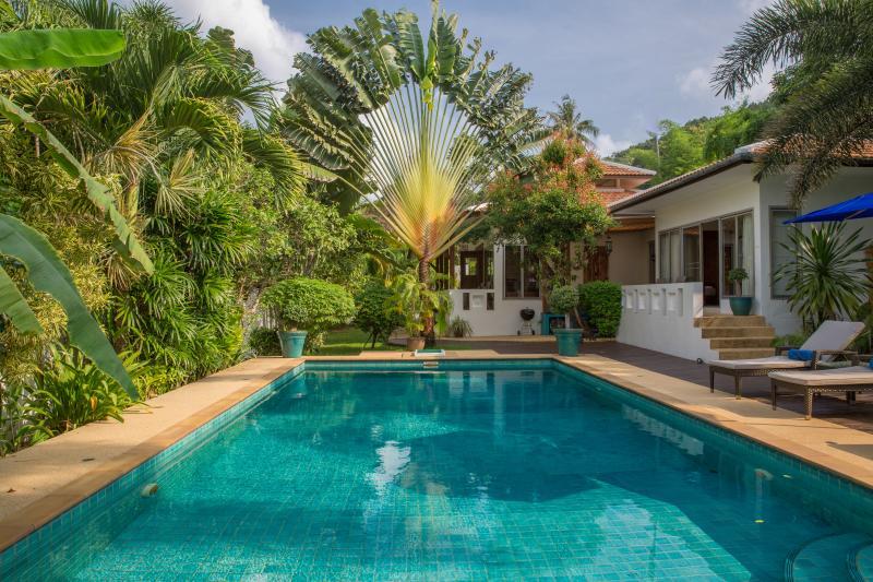 Baan Jasmine Bali Pierre Piscine et beau Travellers Palm