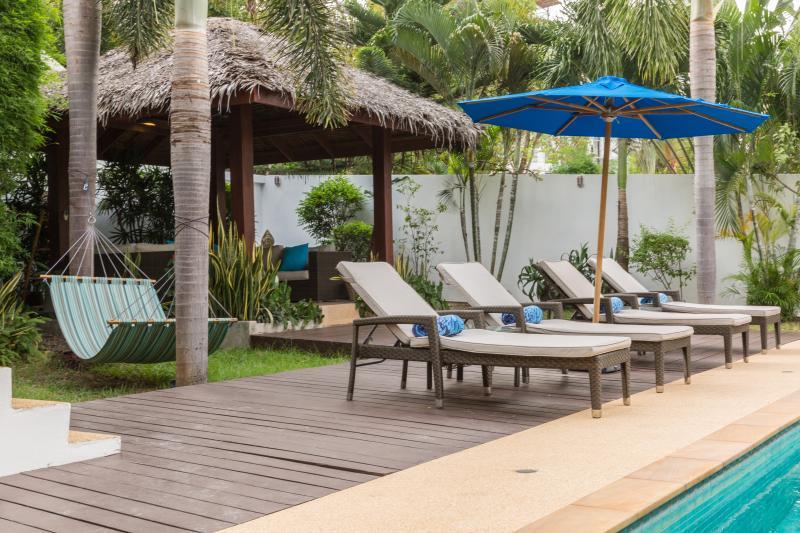 Thai Sala in the tropical garden