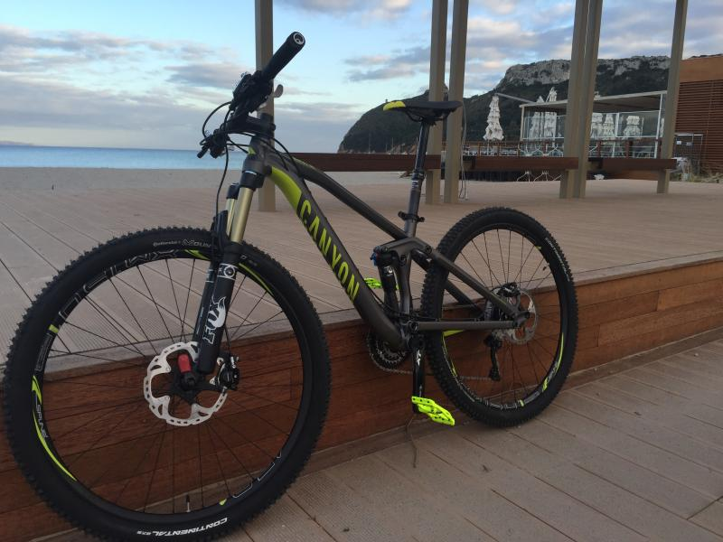 MTB for rent included in the price. Max 4 MTB