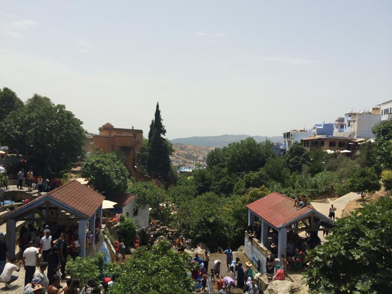 La magnifique ville Chefchaouen.