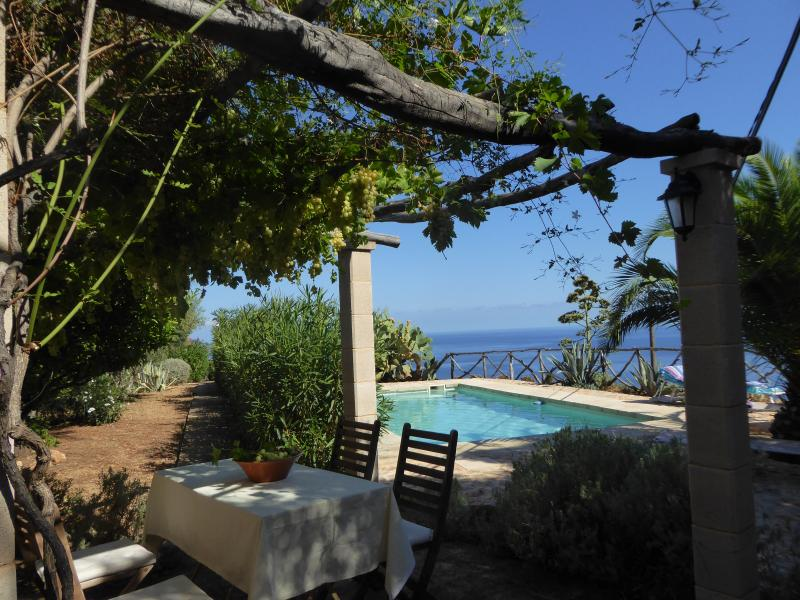 Casa Sa Vinya Banyalbufar, location de vacances à Galilea