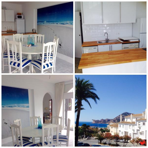 nautical but nice, sea view apartment in old town – semesterbostad i Altea