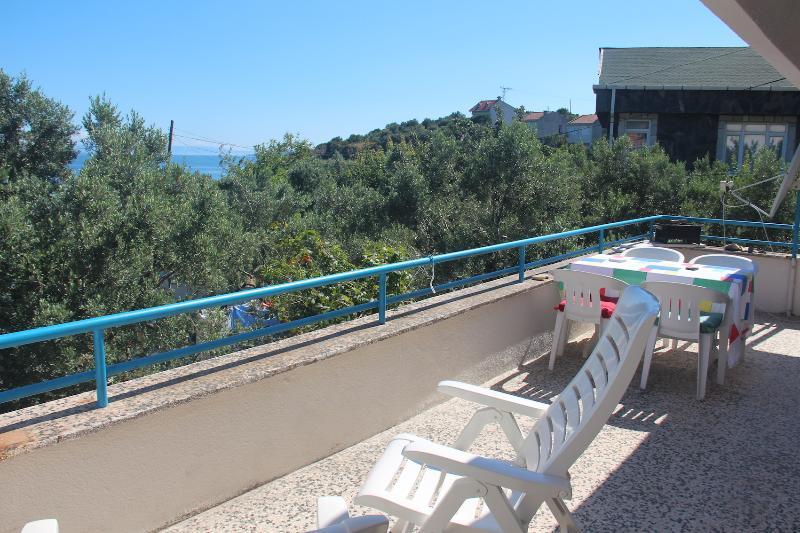 holiday flat terrace