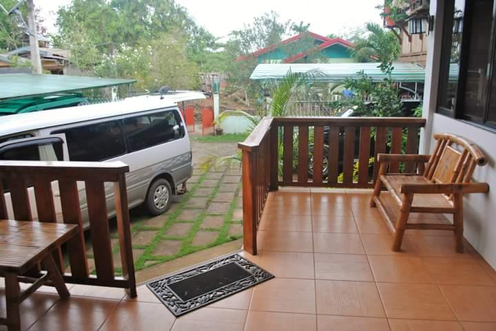 Common Terrace of the Guest House! Guest can do card games or have a party nightout in our place