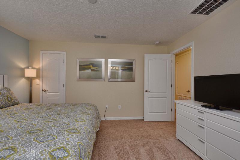 Dormitorio, Interior, Habitación, pantalla, TV