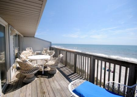 View from Oceanfront Deck