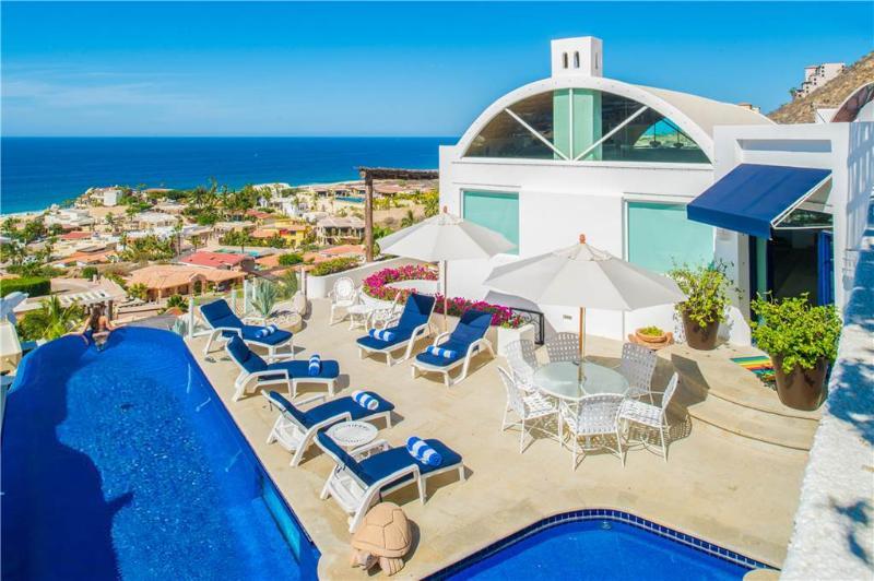 Splendid Ocean Views in Pedregal Hideaway: *Villa Cerca Del Cielo, alquiler vacacional en Cabo San Lucas