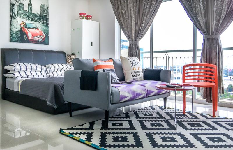 Luxe Studio 200m to Ikea, aluguéis de temporada em Sungai Buluh