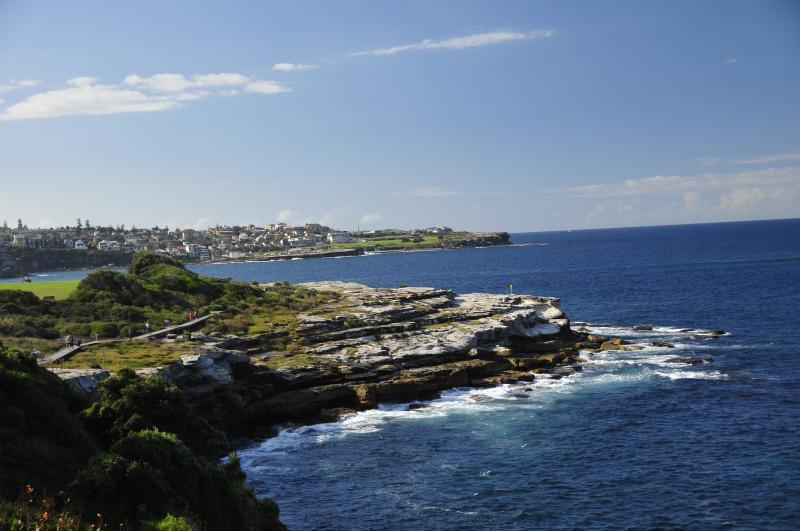 nearby start of Maroubra to Bondi Beach coastal walk