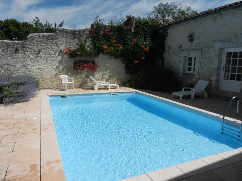 Beautifully renovated farmhouse with private pool, casa vacanza a Mareuil
