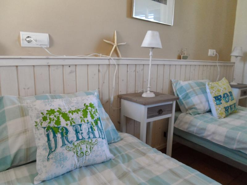 The 'seaside' room can be a twin or large double