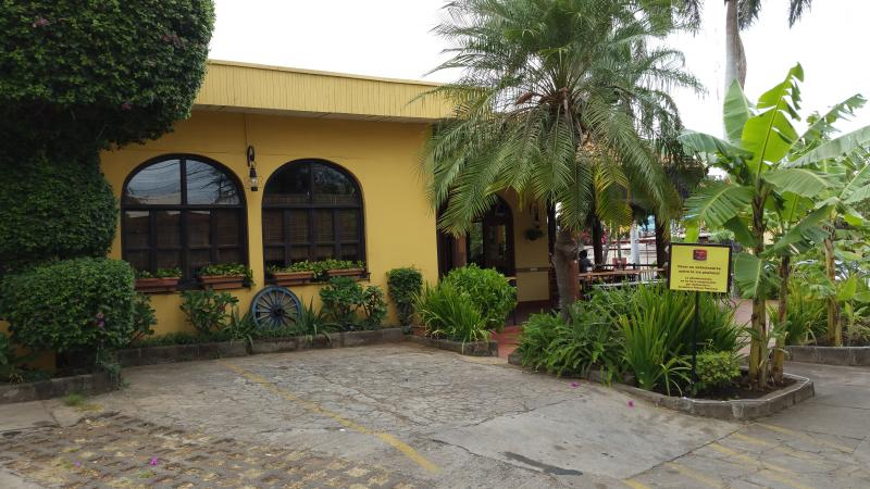 Cocina de doña Haydeé. Typical Nicaraguan food. 1/2 block away