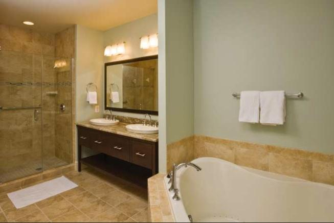 All Master Bedrooms have a Jetted Jacuzzi Bathroom