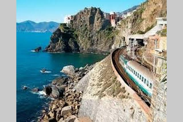 To be reached easily by train: the Cinqueterre