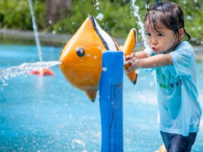 New!! Wet play area opening in the Summer 2016