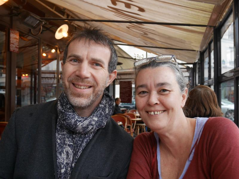 Claire & Laurent, your hosts :-)