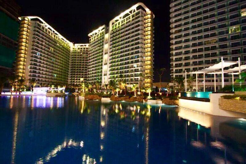 Azure Resort Residences by famous Paris Hilton with manmade beach in the heart of the metropolis
