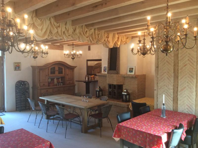 in onze bistro La Chauvotte