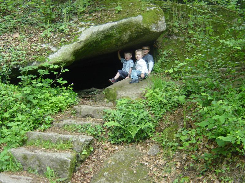 Caves to explore in the 'Enchanted Forest' in Huelgoat
