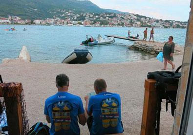 sea diving club in Stobrec
