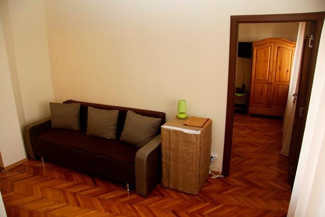 Cameră dublă cu canapea extensibilă