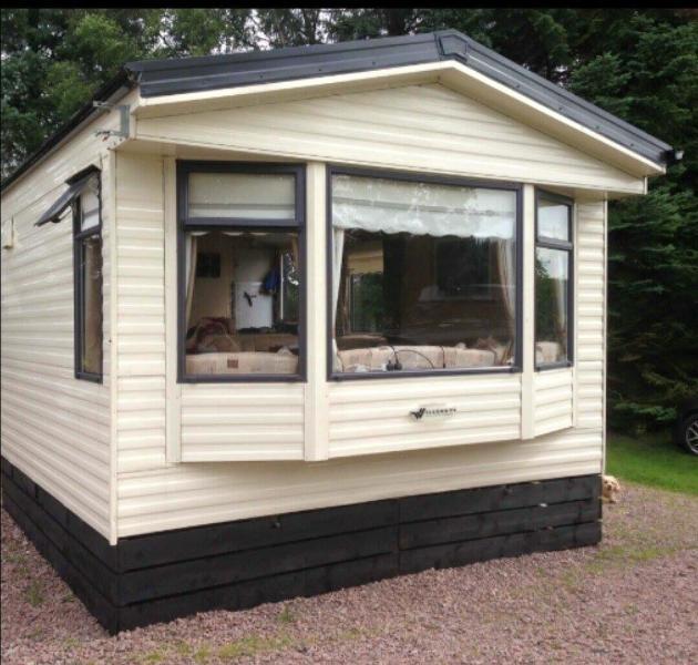 Lovely 3 Bedroom Static Caravan  Chalet in Inverness