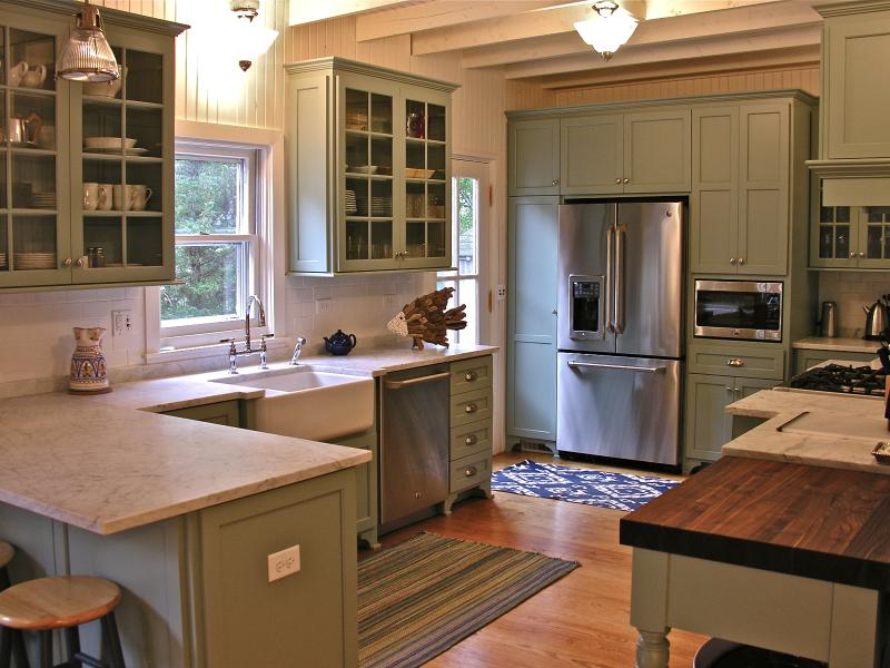 Gourmet kitchen has every amenity you would expect - 40 bottle wine fridge, dishwasher, microwave.