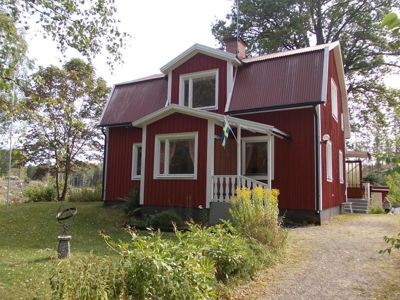 Ferienhaus Rosenvik von vorne