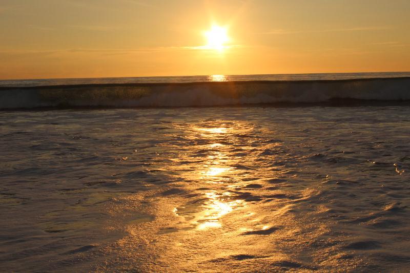 Sunset Surf Break Playa Flamingo