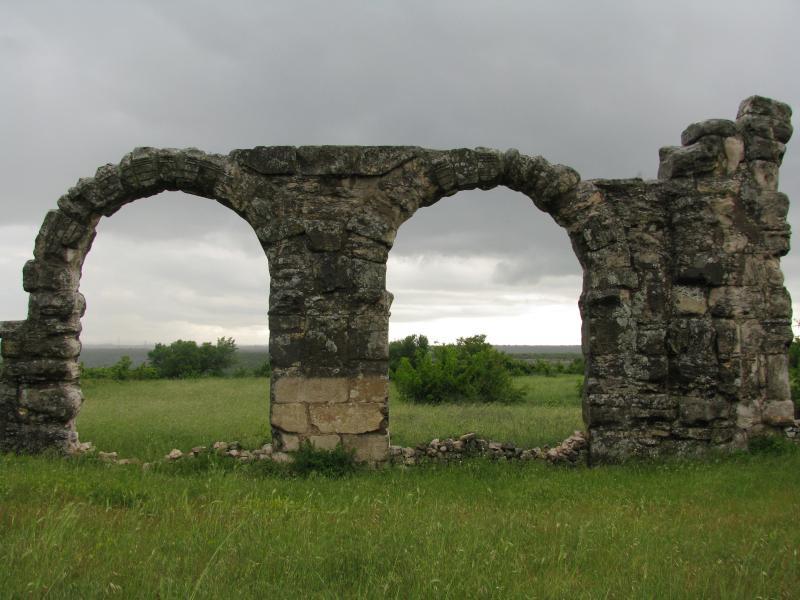 Burnum, remains of roman military camp.