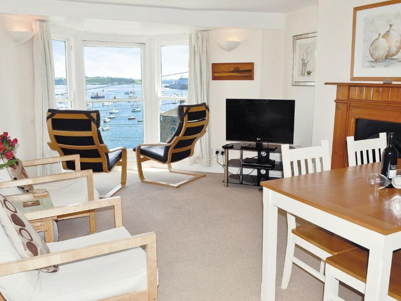 Living Room -which provides a great view of the harbour