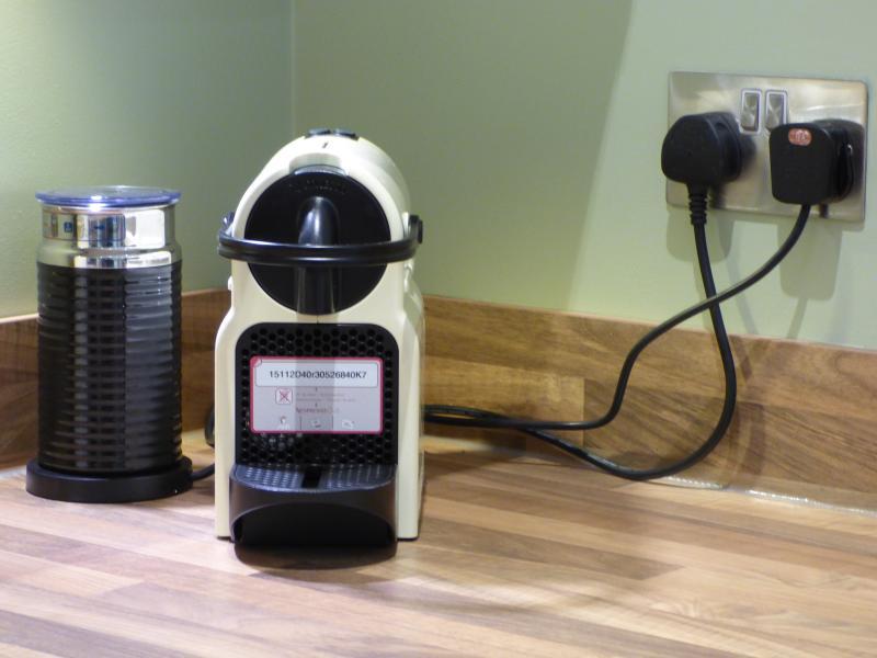Nespresso Machine (Capsules provided)
