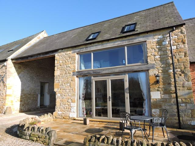 The Byre is set in newly converted outbuildings close to the farmhouse