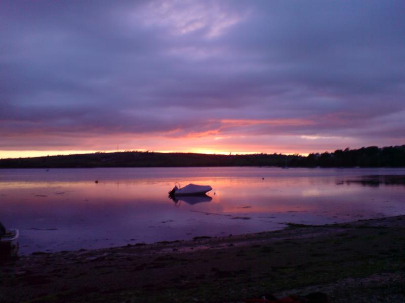 Sunset at Charleton estuary