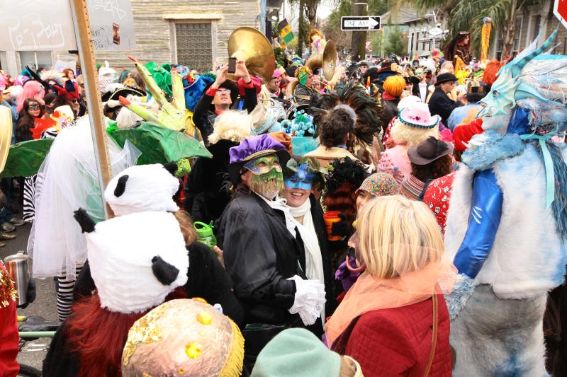 Mardi Gras in the Bywater: The St Anne Parade
