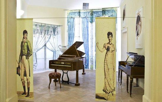 Fabriano museum of hisoric pianos