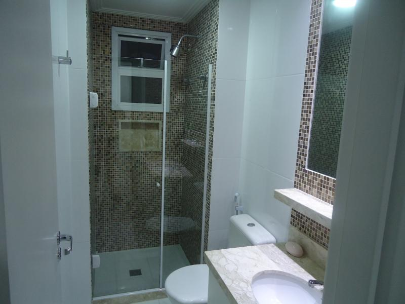 Banheiro da Suite 1 completo