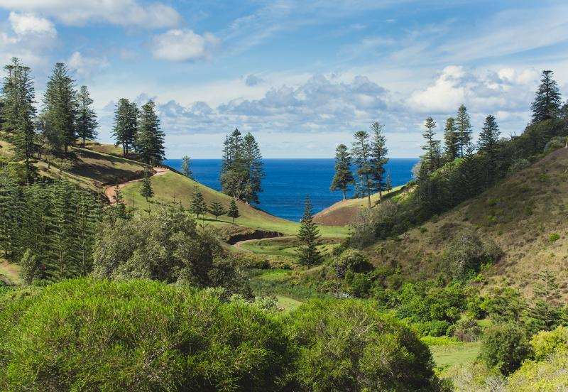 Hunky's Homestead - The Best Accommodation View on Norfolk Island - Right from your Lounge Room
