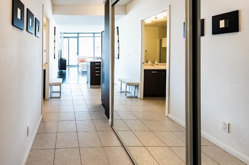 Laundry and suite Hallway.