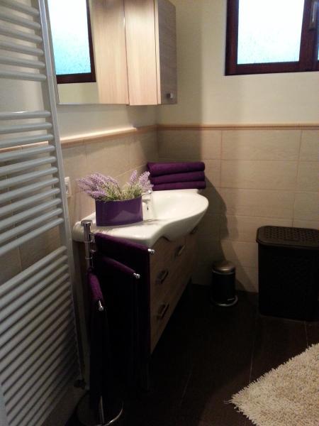 Bathroom downstairs.