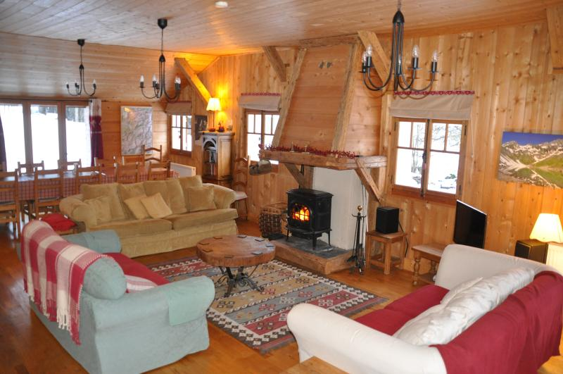 Sixt Alpine Chalet, holiday rental in Grand Massif