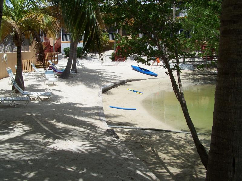 Lagoon Beach & Pool next to the Townhouse