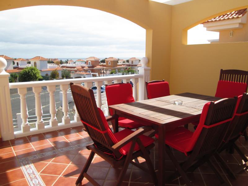 Beautiful terrace with sea views