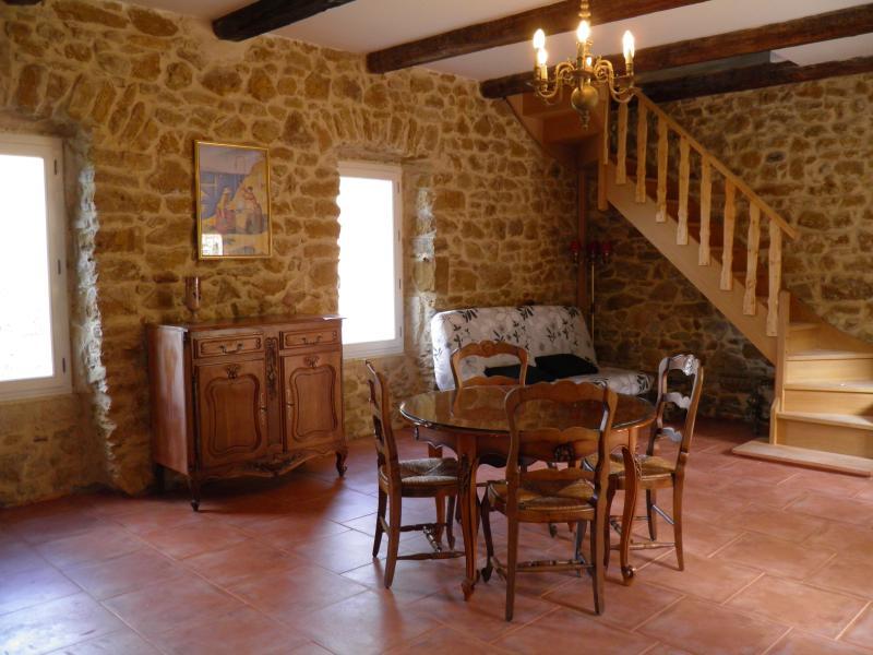 Mas Renaissance gîte Le Rigaudon, holiday rental in Vallon-Pont-d'Arc