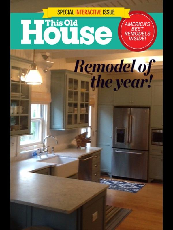 Solera was featured twice in This Old House magazine.