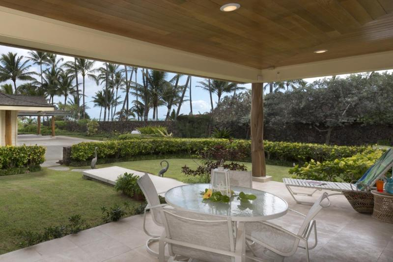 View of your of the lanai.